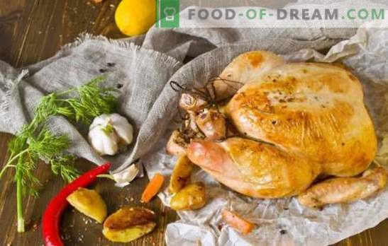 What to cook for dinner chicken quickly and tasty: from classic to exotic. How to cook a chicken dinner quickly and tasty?