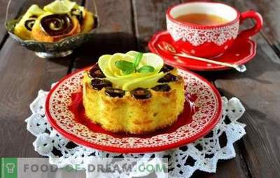 How to make lemon sponge cake in the oven and the slow cooker. The subtleties of cooking lemon sponge cake with impregnation, on kefir, with poppy