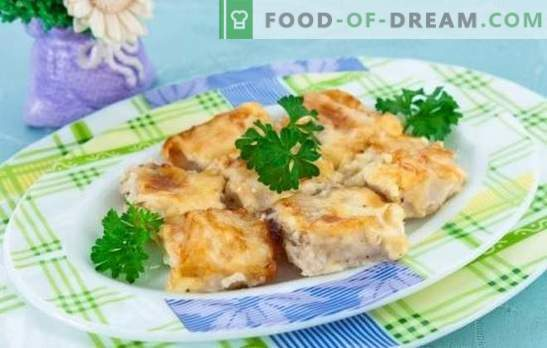Fish in an omelet is a wonderful combination! Recipes for different fish in an omelet in the oven, in the pan and in the slow cooker
