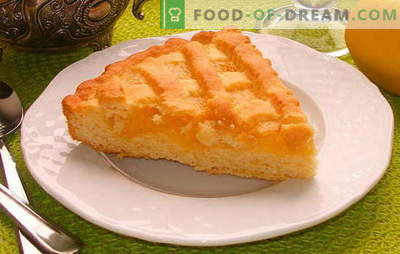 Sandy lemon pie - no one has yet been able to resist! Recipes sandy lemon pies for home tea