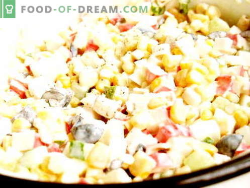 Winter salad - the best recipes. How to properly and tasty cook Winter salad.