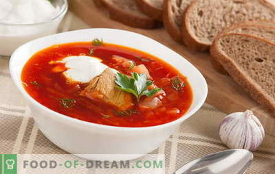 Borsch: a classic recipe with meat is a man's dream! We share old recipes of classic borscht with meat