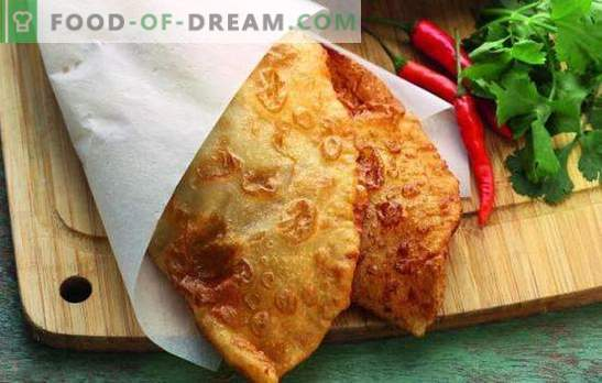 About beer pasties: fried pies - no problem! Interesting ideas from the world of cooking: recipes for fillings for beer chebureks