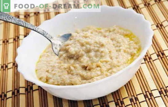 How to cook oat-flakes to make it tasty? Cook porridge on water, with milk, raisins, pumpkin, apples