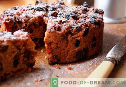 Muffins with raisins are the best recipes. How to quickly and tasty cook muffins with raisins.