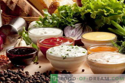 Chicken sauces are the best recipes. How to properly and tasty cook sauces for chicken.
