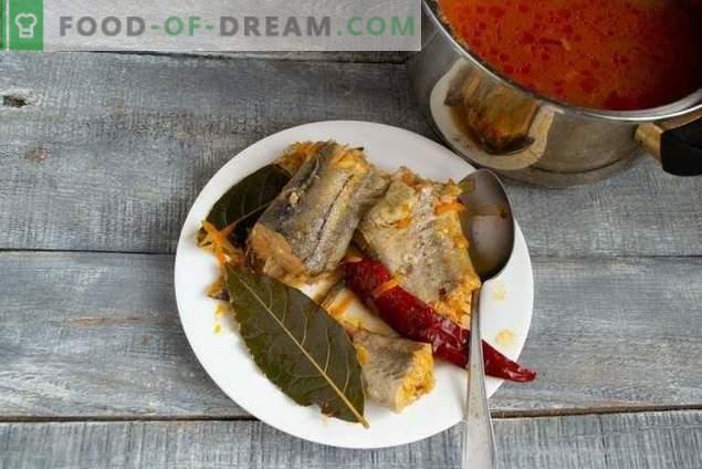 Light pollock fish soup