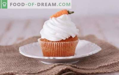 Carrot muffins - tasty and healthy pastries. A selection of the best recipes for carrot muffins, sweet and savory