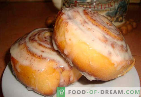 Cinnabon buns are the best recipes. How to properly and tasty cook buns Cinnabon at home