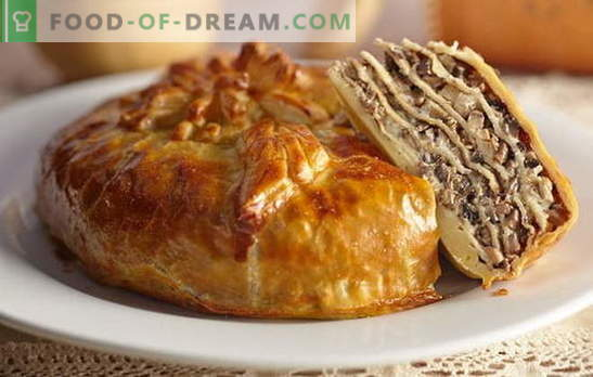 Sophisticated and delicious quiky pie on kefir. Quick and classic recipes kurnikam kefir