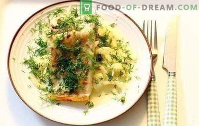 Fish in cream sauce - a special taste of fish dishes. Recipes for baked fish stewed in a pan with cream sauce
