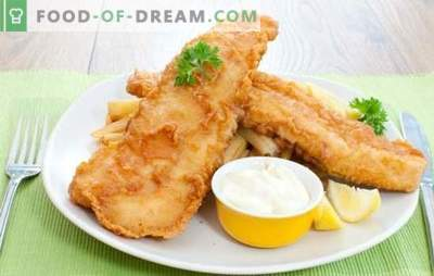 Pink salmon in batter - inexpensive, healthy and easy to prepare dish. Top 10 best recipes of pink salmon in batter: fry and bake!