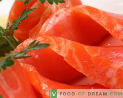 How to pickle salmon at home is tasty and fast