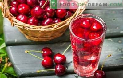 Sweet cherry compote is an awesome billet! Recipes of various compotes from sweet cherry with stones and without, for winter and summer