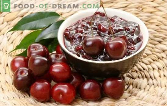 Simple cherry jam in a slow cooker. Recipes cherry jam in a slow cooker, with brandy, nuts and jelly
