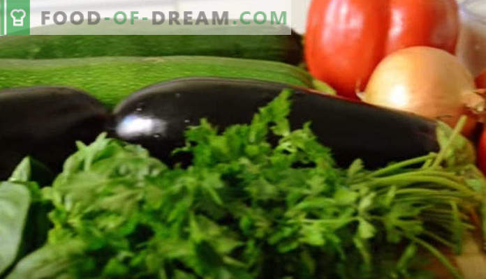 What to cook from eggplant quickly and tasty, recipes with photos, in the pan, in the oven, for the winter