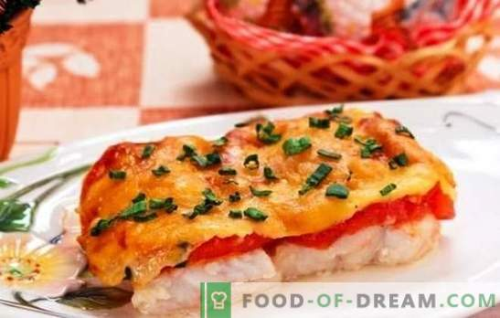 Fish baked with cheese - a dish for holidays and weekdays! A selection of recipes for different fish baked with cheese