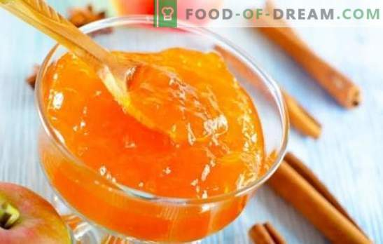 Apple jam with orange - old taste, new flavor! Recipes jam from apples with oranges for the winter and just like that