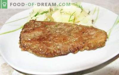 Liver in milk is an old-fashioned way to make a tender and healthy dish. Recipes of the liver in milk: chicken, pork, beef