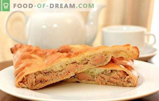 Pie with pink salmon - nourishing, fragrant, very tasty. Recipes for homemade pie with pink salmon: yeast, puff, fill
