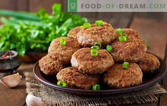 Homemade burgers - the smell of happiness! Delicate, juicy and delicious homemade meatballs: recipes and cooking secrets