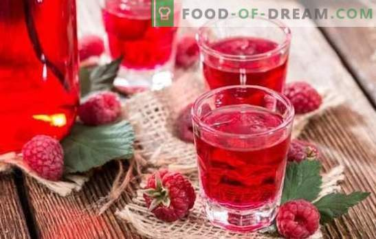 Raspberry tincture at home - an explosion of aroma! How to prepare a raspberry tincture at home on alcohol, vodka, moonshine, brandy