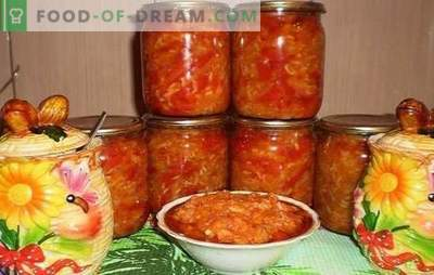Tomatoes with rice for the winter - a popular billet, healthy and tasty. The best proven recipes for tomatoes with rice for the winter