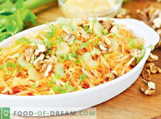 Vitamin salad from cabbage - the best recipes. How to properly and tasty to prepare a vitamin salad from cabbage.