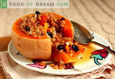 Stuffed pumpkin - the best recipes. How to properly and tasty cook stuffed pumpkin.