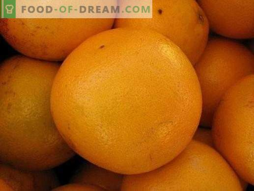 Choosing citrus fruits