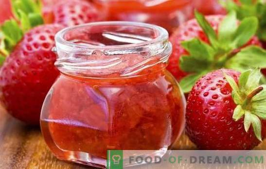 Preparations for the winter of strawberries - from jam to compotes. The best and most vivid recipes blanks for the winter of strawberries