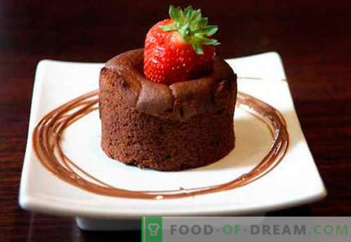 Chocolate soufflé - the best recipes. How to quickly and tasty cook a chocolate souffle.