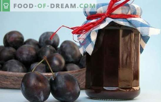 Prune jam - a delicacy with a subtle note! Proven recipes for prunes jam on the stove, in the oven and without