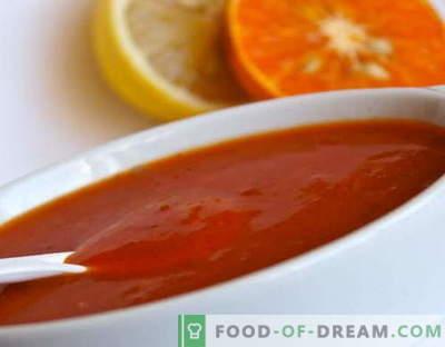 Сладко-кисел сос - най-добрите рецепти. Как правилно и вкусно да се готви сладко-кисел сос.