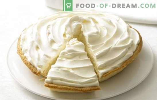 Cream of condensed milk and sour cream - any baking will be candy! A selection of recipes and desserts with cream of condensed milk and sour cream
