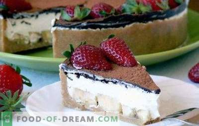 Cream for homemade cake: butter, cottage cheese, creamy, caramel, chocolate, from jam ... Choose from the variety of tastes your own recipe for homemade cake!