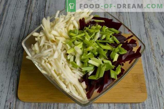 Black Radish Salad