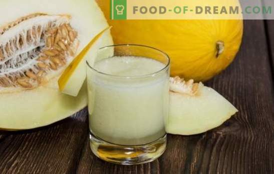 Melon drinks for the winter are tasty and unusual, a variety of options. Stock up on melon compote for the winter - a must!