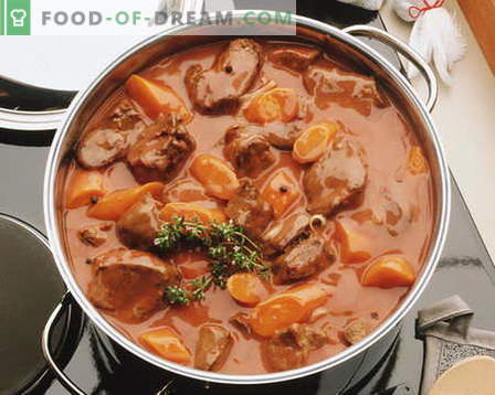 Stew meat - the best recipes. How to properly and tasty cook stew.