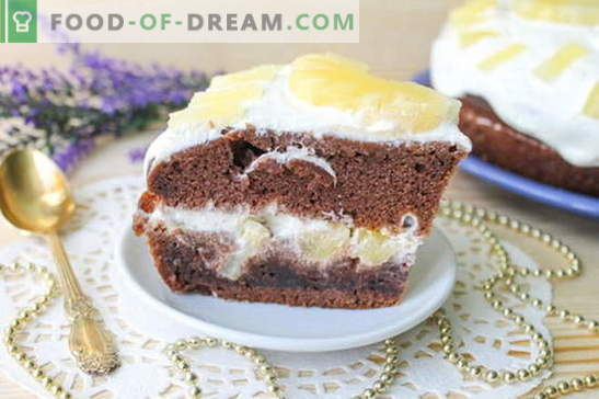 Cake in a slow cooker - a delicate dessert: a recipe with a photo. Step by step description of cooking cake in a slow cooker: chocolate sponge cake