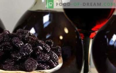 Tincture on prunes: no secrets! Prune mood in recipes prune tincture on vodka