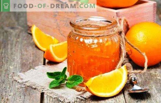 Fragrant orange jam: how to make an orange delicacy. Oranges jam recipes with lemons, ginger, cinnamon