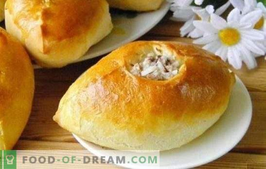 Patties with minced meat and rice - nourishing, tasty, home-style! Cooking baked, fried and puff pastries with minced meat and rice