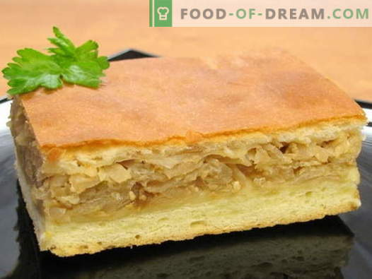 Cabbage pie - the best recipes. How to cook cabbage pies and tasty.