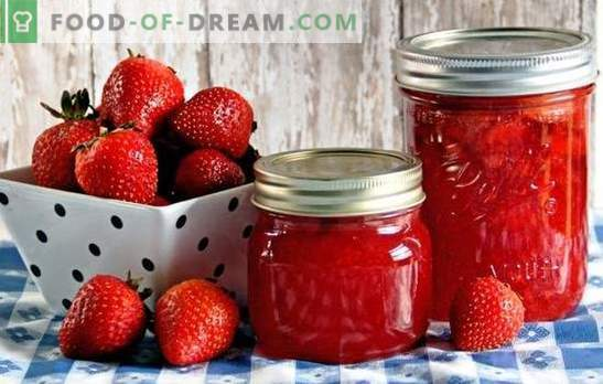 Strawberries in syrup for the winter: with sugar, citric acid, gelatin. Recipes canned strawberries in the syrup for the winter