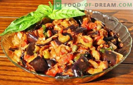 Eggplant in a slow cooker: second courses and preparations for the winter. Eggplant recipes in a slow cooker are simple and unique in taste.