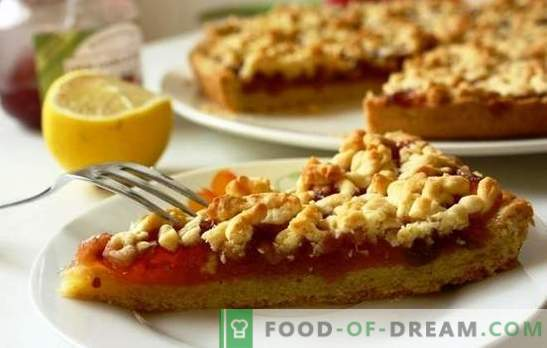 Grated apple pie is a simple culinary wonder. The best recipes for grated pie with apples and nuts, bananas, almonds