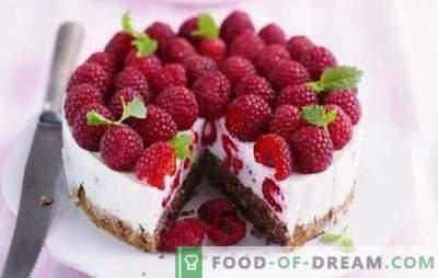 Малина торта е лето искушение за слатки заби. Рецепти за малина летни колачи: малини во десерт - животот е добар!