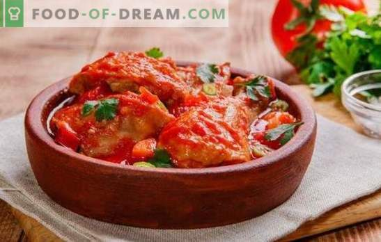 Cooking step-by-step chakhokhbili from chicken - recipes and all the rules! How to cook Georgian Chakhokhbili from chicken (step-by-step recipes)