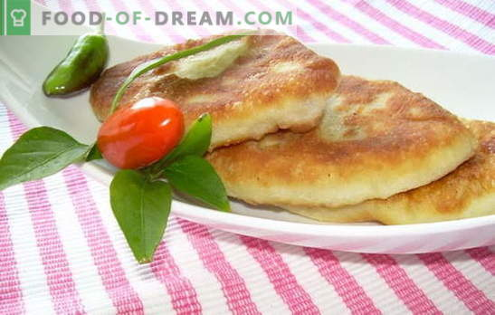 Potato pies fried in a pan - who will refuse? Recipes dough and fillings for patties with potatoes, fried in a pan